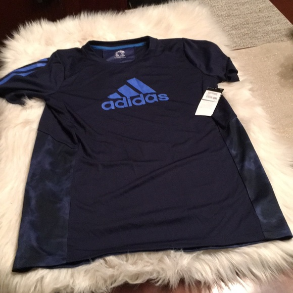 Adidas BOYS Children/'s Shirts DRY-FIT CLIMACOOL